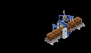 Automatic drums filling machine. Автоматическая линия розлива в бочки и IBC контейнеры.