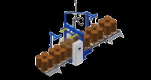 Автоматическая линия фасовки в бочки жидких продуктов в бочки и IBC контейнеры.