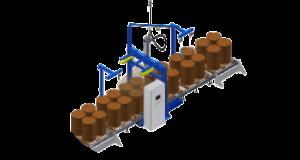 Automatic drums filling machine. Автоматическая линия розлива в бочки и IBC контейнеры
