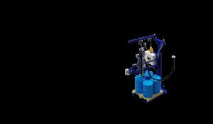 МВС Мехатроника. Весовой дозатор розлива жидких продуктов в бочки на поддоне и IBC контейнеры
