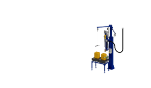 Canisters filling machine. Весовой дозатор розлива жидкостей в канистры