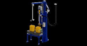 Canisters filling machine. Автоматический весовой дозатор розлива в канистры