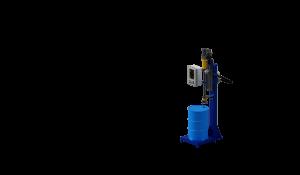 МВС Мехатроника. Весовой дозатор розлива взрывоопасных жидкостей в бочки. Оборудование розлива легковоспламеняющихся жидкостей