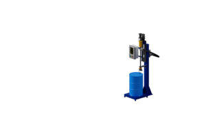 Exposion proof machine for outdoor use. Весовой дозатор розлива взрывоопасных жидкостей в бочки. Оборудование розлива легковоспламеняющихся жидкостей.