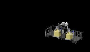 МВС Мехатроника. Весовой дозатор розлива битума в биг-бэги